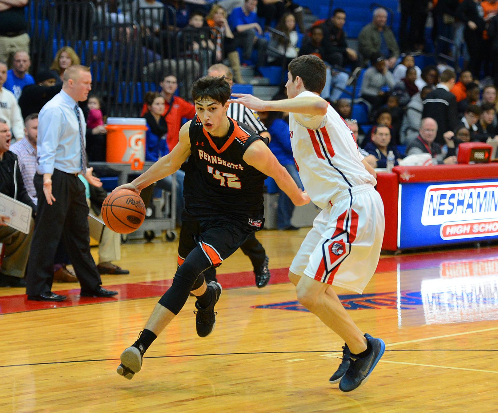 Pennsbury Basketballs Mark Flagg Commits To Saint Francis Boys