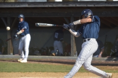 Malvern Prep senior Lonnie White slugged a two-run homerun in the first inning, he also hit this double in his second at bat.