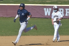 Malvern Prep senior (20) Lonnie White slugged a two-run homerun in the first inning, he also had a double in his second at bat.