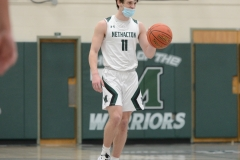 Methacton's Brett Byrne brings the ball up the court Friday against Spring-Ford. (Owen McCue - MediaNews Group)