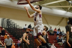 Garnet Valley's Max Koehler floats for a layup Friday during a District 1-6A quarterfina against Perkiomen Valleyl. (Owen McCue - MediaNews Group)