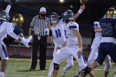 Great Valley quarterback (11) Andy Talone passesi in the second quarter.