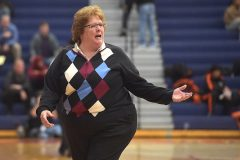 Villa Maria coach Kathy McCartney.