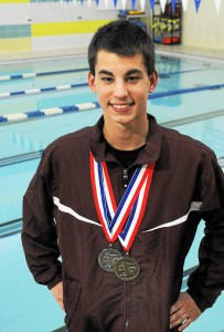 Pottsgrove's Kevin Basch was named the Mercury's All-Area Boys Swimmer of the Year. (John Strickler - Digital First Media)