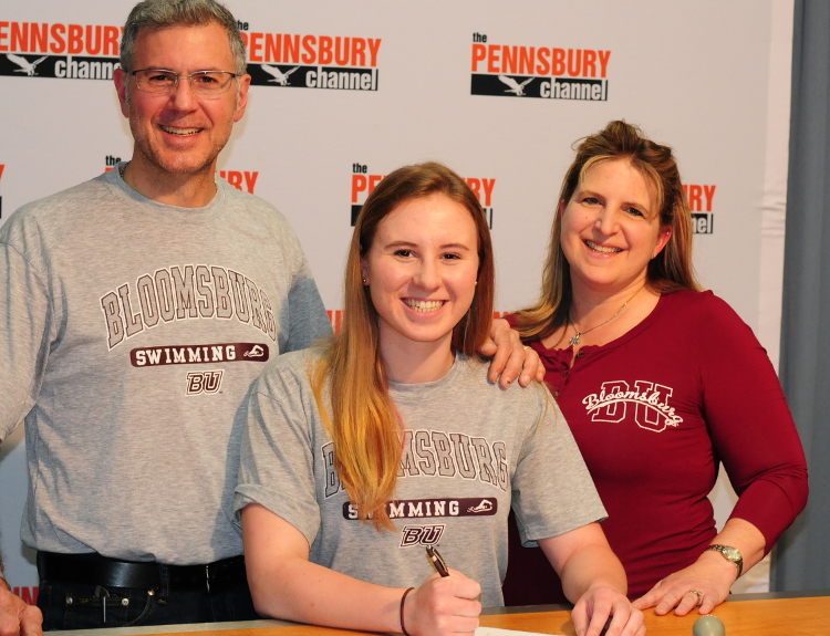 Never a doubt that deanna shuster was heading to bloomsburg swimming pa prep live for Bloomsburg university swimming pool