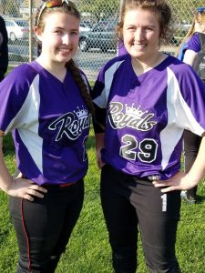 Sisters Lexie, left and Sam Witmer formed a powerful pair for Upper Darby this past season. Lexie, a catcher is the only freshman on the All-Delco first team. Sam, a junior centerfielder, hit .350 for the Royals.