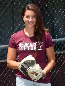 Avon Grove's Maggie Balint, the 2016 Daily Local News All-Area Softball Player of the Year. (PETE BANNAN -- DIGITAL FIRST MEDIA)