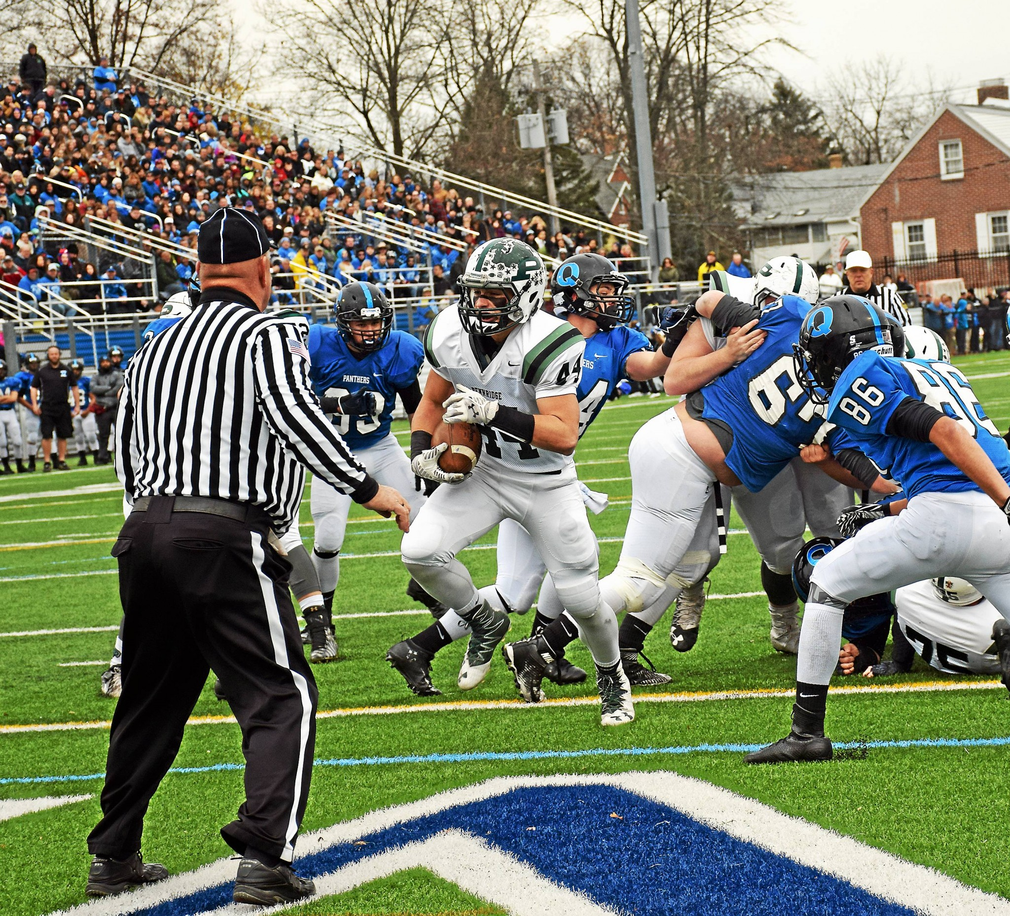 Pennridge Feasts On Rival Quakertown 55 27 On Thanksgiving