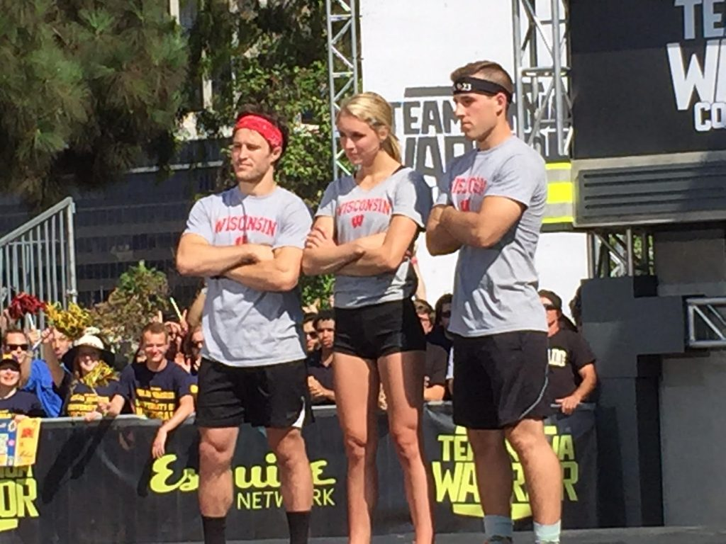 The season finale of 'Team Ninja Warrior - College Madness' will air on Dec. 20 on the Esquire Network. (Photo courtesy Andrew Kemmerer)