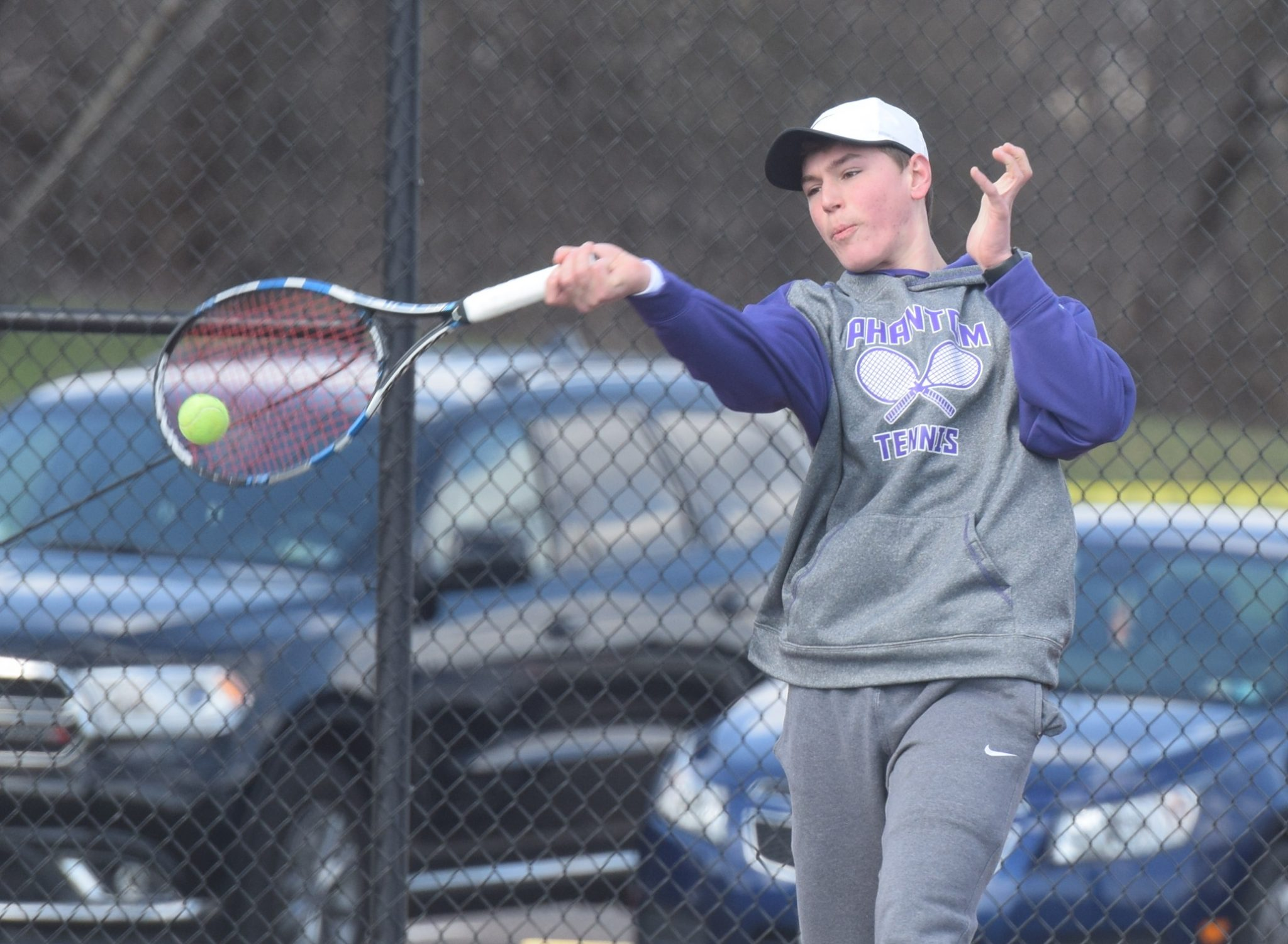singles in phoenixville Phoenixville rolled in singles play, getting a 6-2, 6-2 win at no 1 from julia gumieniak over elaina lee while gina brown and alex rieg were straight-set.